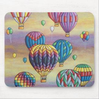 balloon flight mouse pad