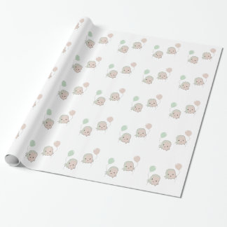 Balloon Floaties Wrapping Paper