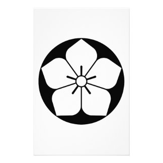 Balloon flower in rice cake stationery