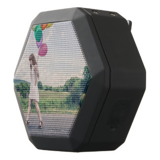 Balloon girl black bluetooth speaker