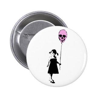 Balloon Girl Pin Redondo De 2 Pulgadas