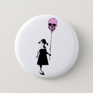 Balloon Girl Pinback Button
