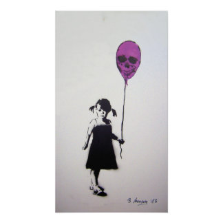 Balloon Girl Poster