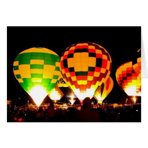 Balloon Glow Card