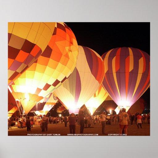 Balloon Glow/GBTBG257 Posters
