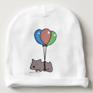 Balloon Hamster Frank by Panel-O-Matic Baby Beanie