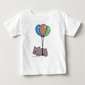 Balloon Hamster Frank by Panel-O-Matic Baby T-Shirt