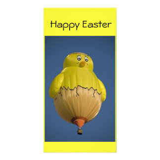 Balloon Happy Easter Photo Card