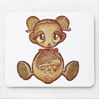 Balloon head girl mouse pads