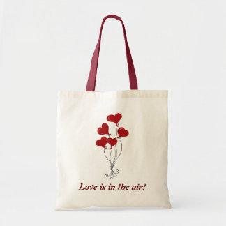 Balloon Hearts Bouquet - Totebag Tote Bag