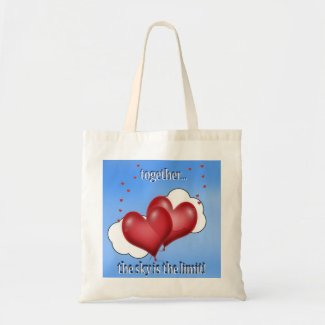 Balloon Hearts with Little Hearts Bag