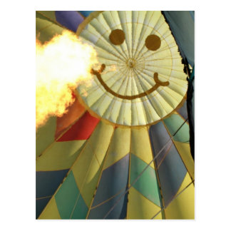 Balloon, Heated Smile! Postcard