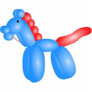 Balloon horse acrylic cut outs