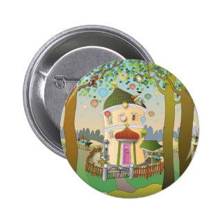 Balloon House Button