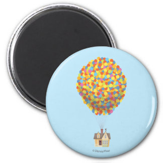 Balloon House from the Disney Pixar UP Movie 2 Inch Round Magnet