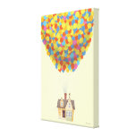 Balloon House from the Disney Pixar UP Movie Canvas Print