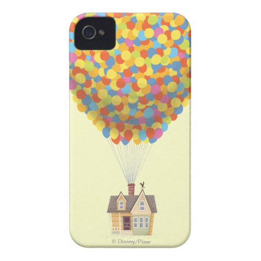 Balloon House from the Disney Pixar UP Movie iPhone 4 Covers
