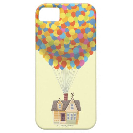 Balloon House from the Disney Pixar UP Movie iPhone 5 Case