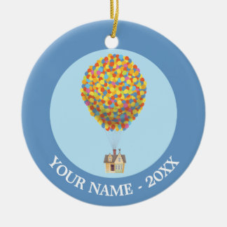 Balloon House from the Disney Pixar UP Movie Ceramic Ornament