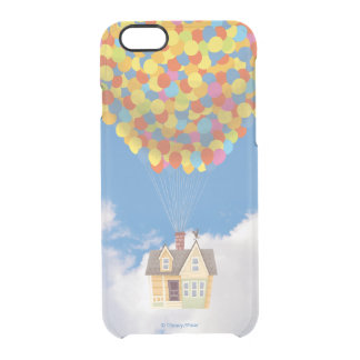 Balloon House from the Disney Pixar UP Movie Clear iPhone 6/6S Case