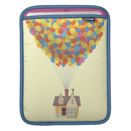 Balloon House from the Disney Pixar UP Movie iPad Sleeve