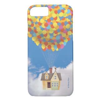 Balloon House from the Disney Pixar UP Movie iPhone 7 Case