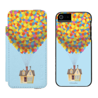 Balloon House from the Disney Pixar UP Movie iPhone SE/5/5s Wallet Case