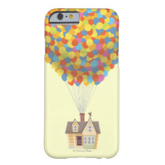 Balloon House from the Disney Pixar UP Movie iPhone 6 Case