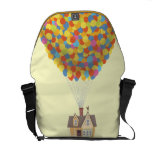 Balloon House from the Disney Pixar UP Movie Messenger Bag