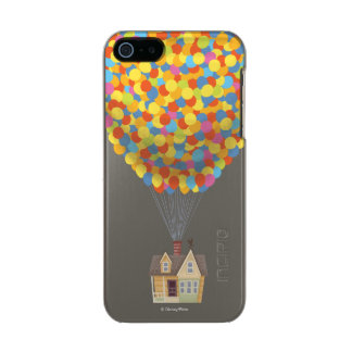 Balloon House from the Disney Pixar UP Movie Metallic iPhone SE/5/5s Case