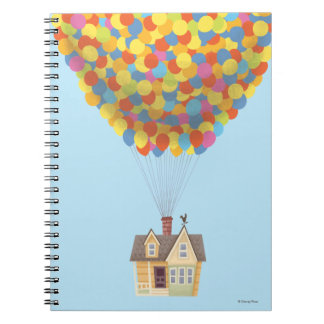 Balloon House from the Disney Pixar UP Movie Notebook