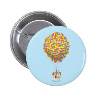 Balloon House from the Disney Pixar UP Movie Pinback Button