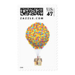 Balloon House from the Disney Pixar UP Movie Postage Stamp