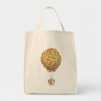 Balloon House from the Disney Pixar UP Movie Tote Bag