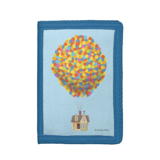 Balloon House from the Disney Pixar UP Movie Tri-fold Wallet