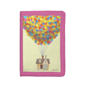 Balloon House from the Disney Pixar UP Movie Tri-fold Wallets