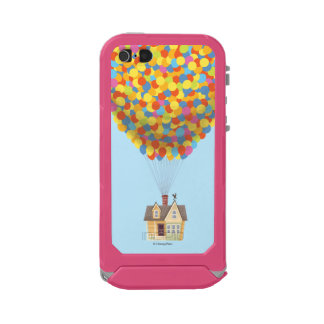 Balloon House from the Disney Pixar UP Movie Waterproof iPhone SE/5/5s Case