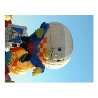 Balloon Humpty Dumpty Postcard