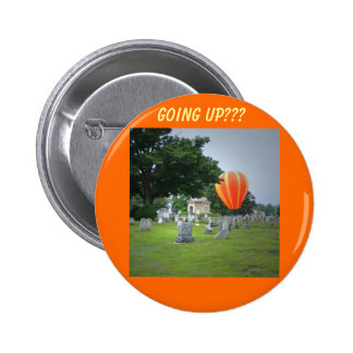 Balloon in a Cemetary, going up??? Pins