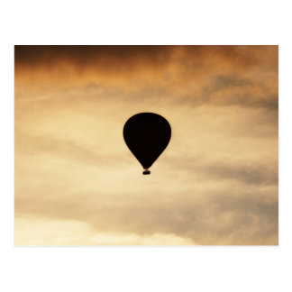 Balloon In Sky Postcard