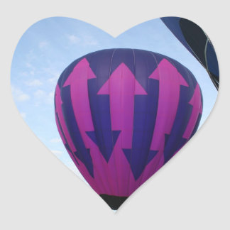Balloon, Indecision Heart Sticker