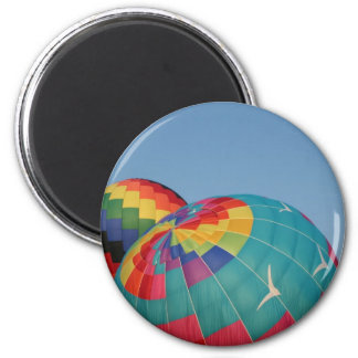 Balloon Inflating! 2 Inch Round Magnet
