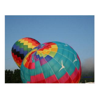 Balloon Inflating! Postcard