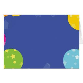 Balloon Items Cards