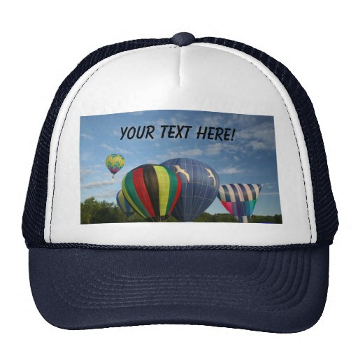 Balloon!  Launch Day! Hat