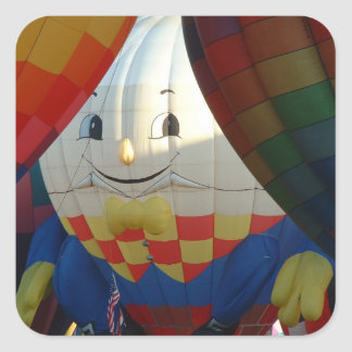 Balloon Let me light up your day! Square Sticker