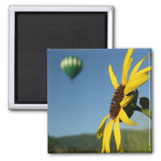 Balloon 2 Inch Square Magnet