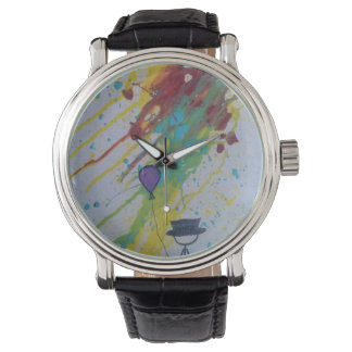 'Balloon Man ColorSplash' Watch