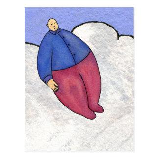 Balloon Man Postcard