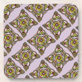 balloon mandala coaster.bohemian hippie pattern coaster